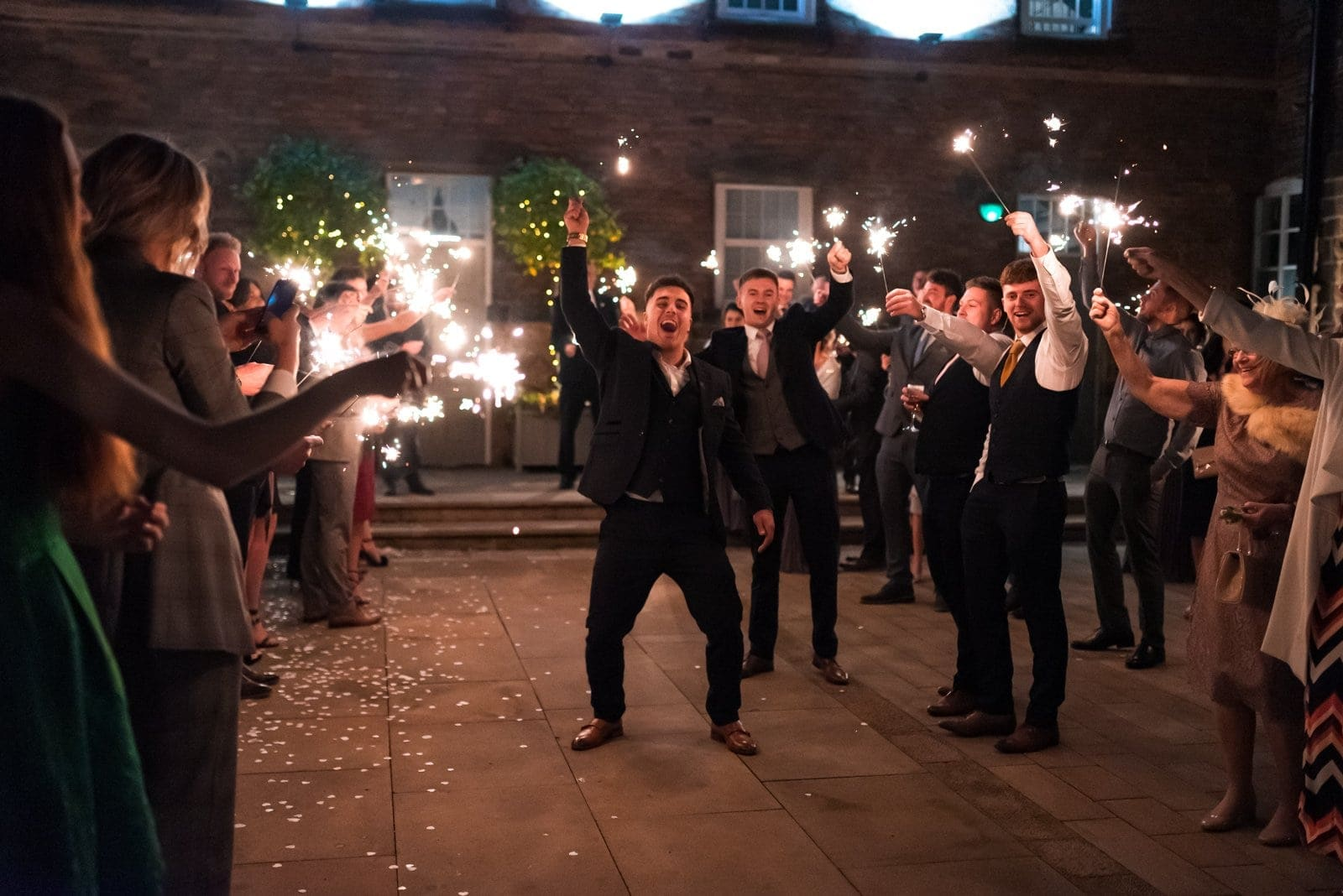Sparklers at the West Mill, Derby
