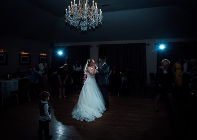 Dancing at a wedding at the Peak Edge Hotel in Chesterfield