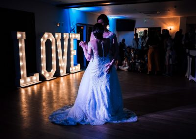 Wedding dancing at the White Hart Inn, Chesterfield
