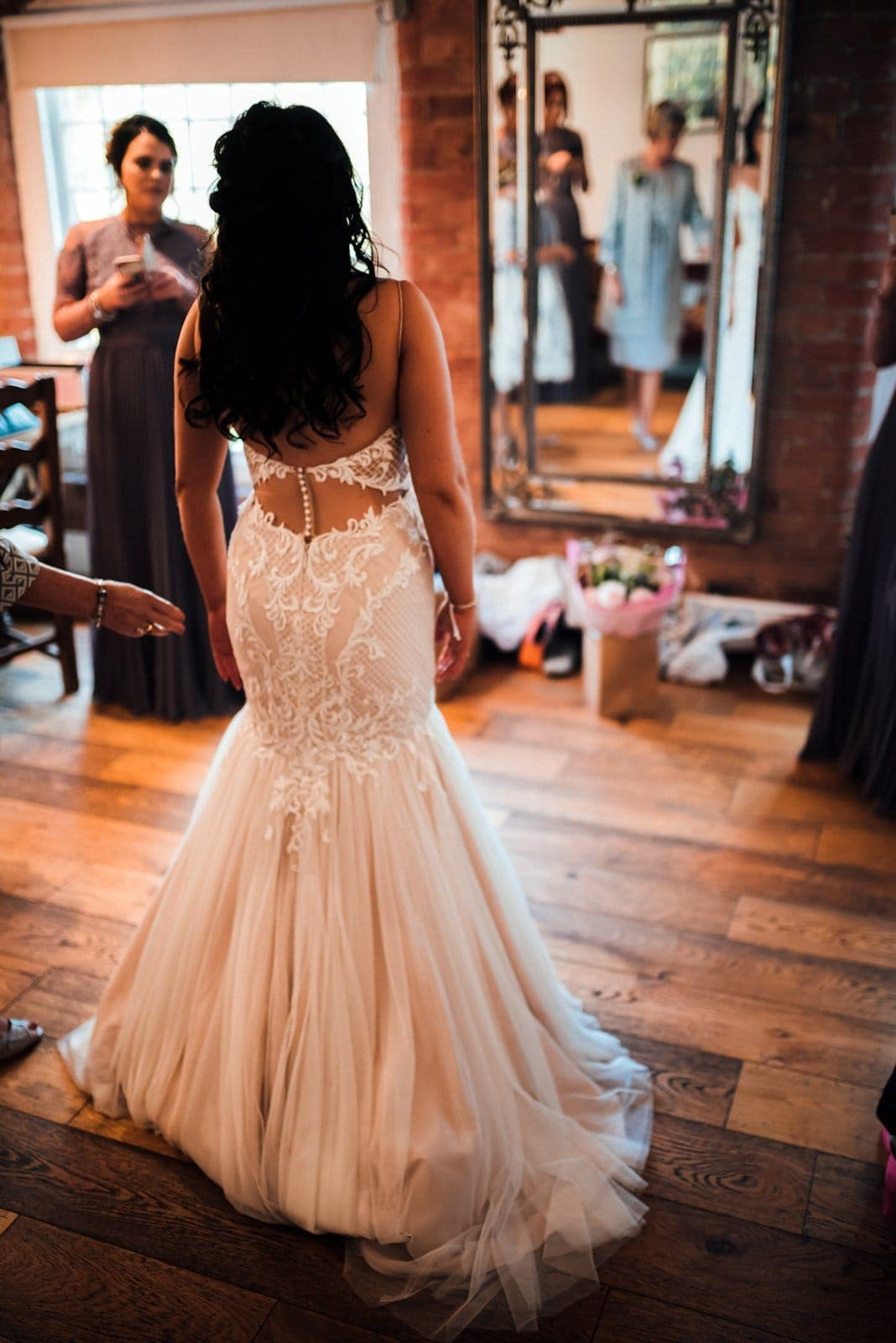 Bridal prep at the West Mill , Derby