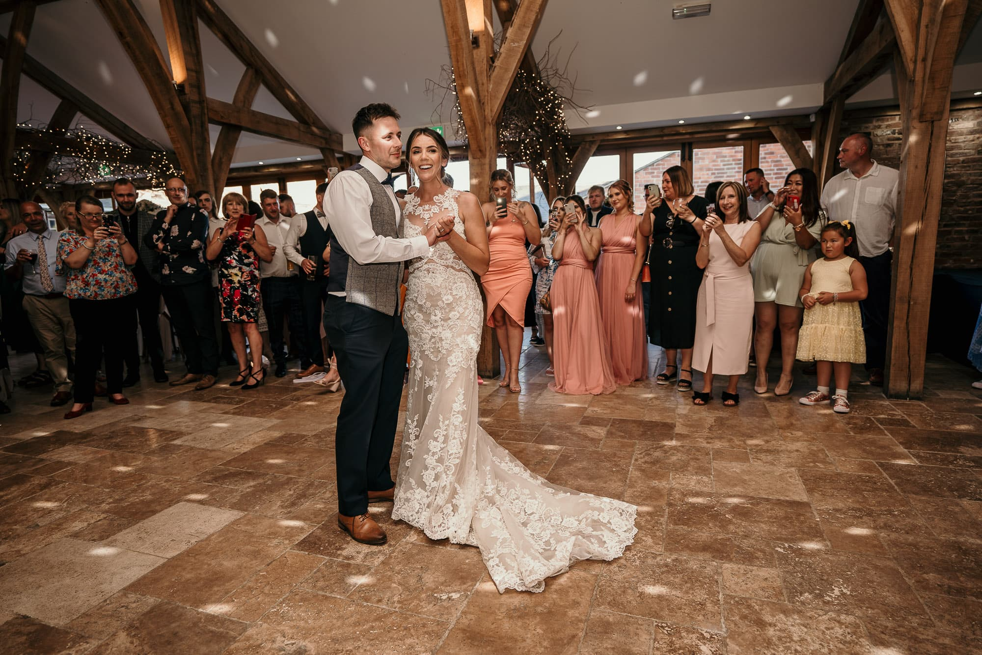 First dance at Swancar Wedding Day