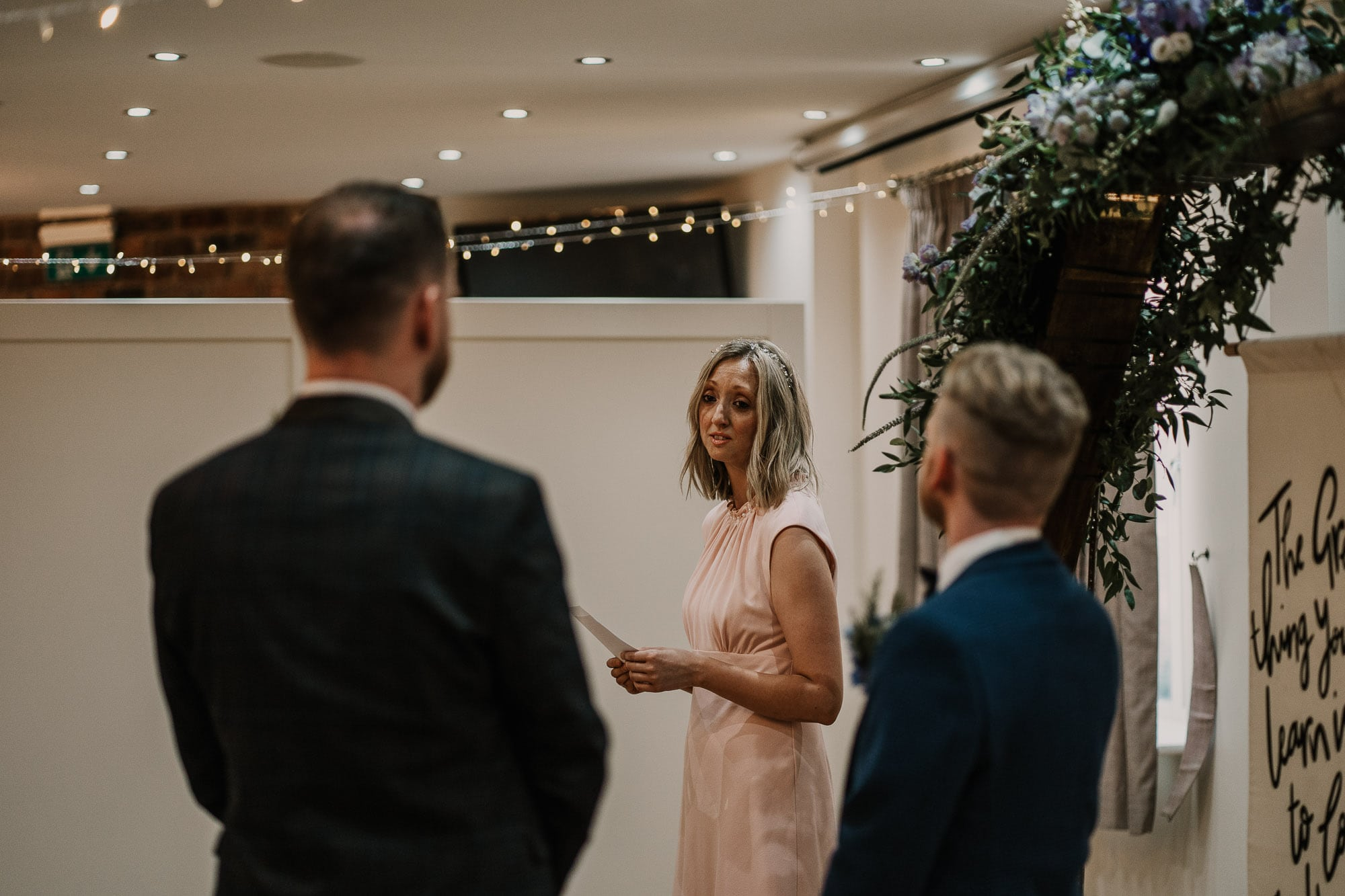 speeches during wedding day of same sex marriage