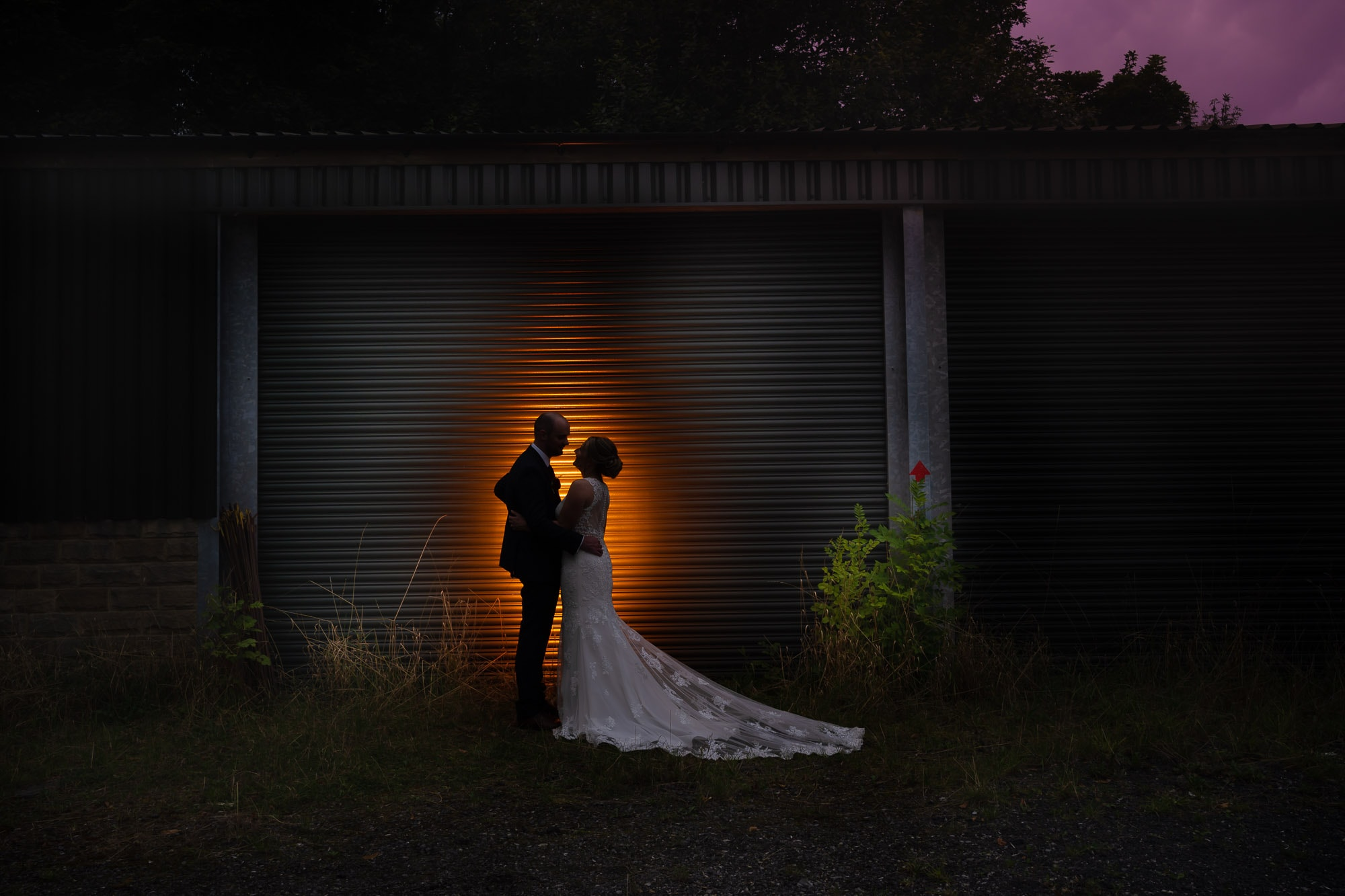 Artistic wedding photography in chesterfield