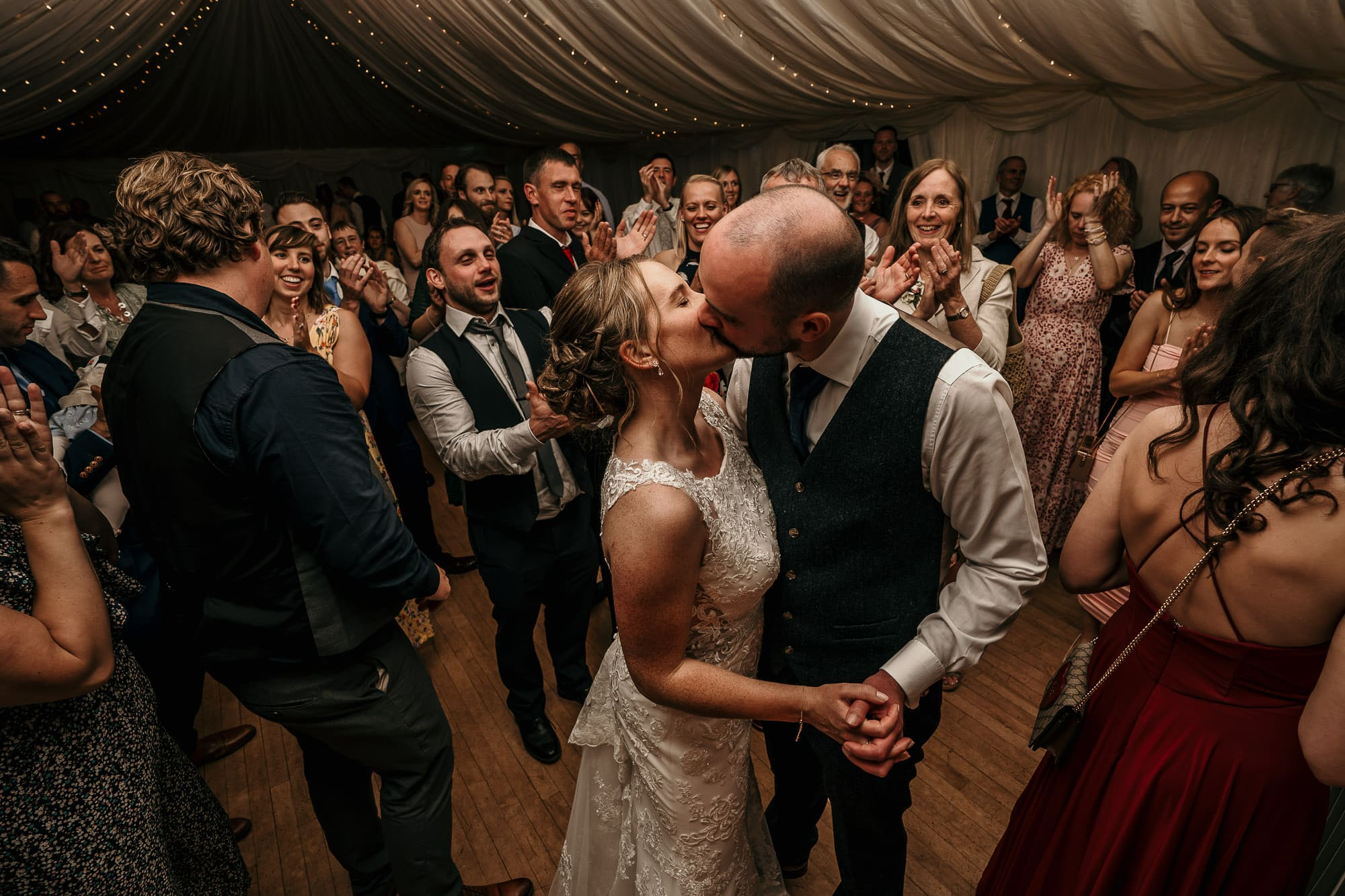 First dance at wedding in chesterfield